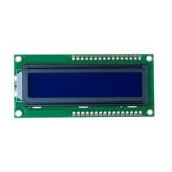 2x16 LCD Screen White over Blue - TC1602A - Thumbnail