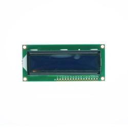 China - 2x16 LCD Ekran - Mavi Üzerine Beyaz