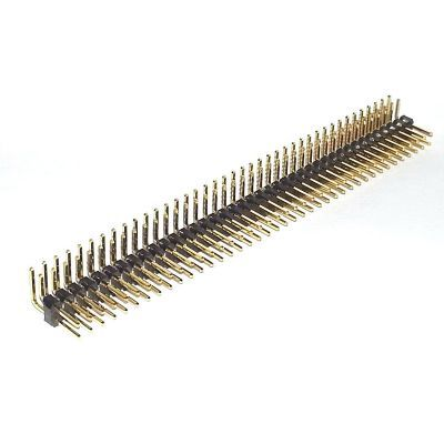 2x40 90 Degree Male Pin Header
