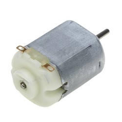Robotistan - 3-6 V DC Motor for Hobby and Toy