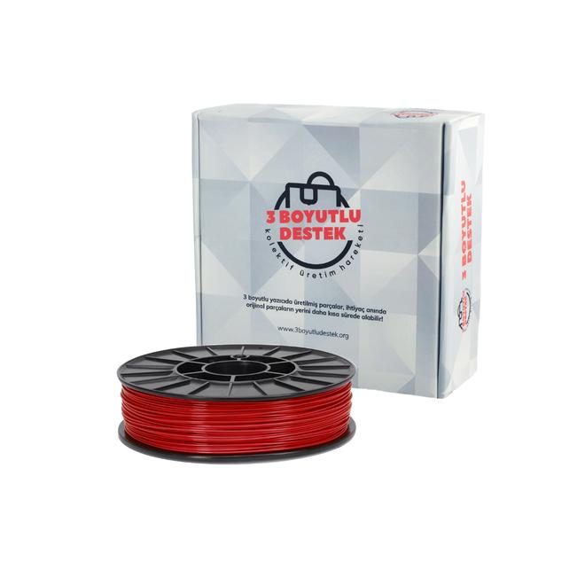 3 Boyutlu Destek PLA 1.75 Filament - Kırmızı