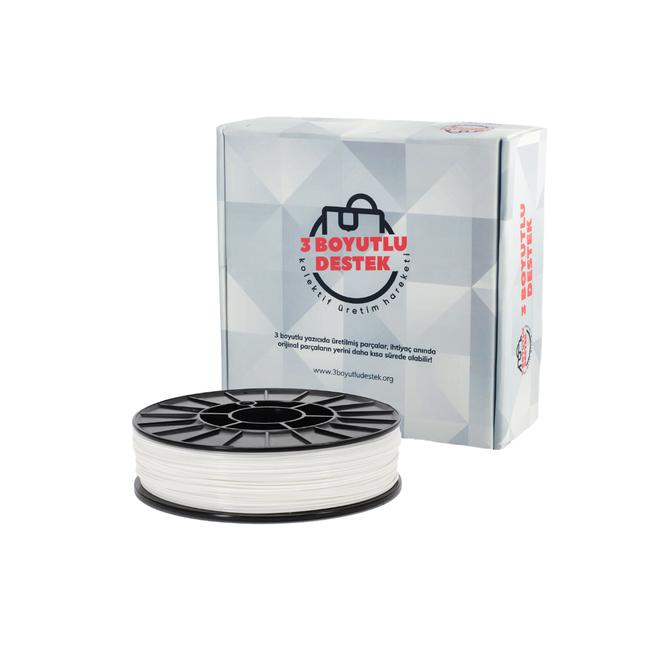3 Boyutlu Destek PLA 1.75 Filament - White
