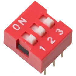 China - 3 Dip Switch