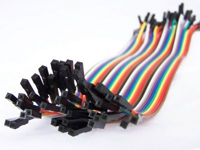 30cm 40 Pin F-F Jumper Wires
