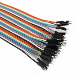 Robotistan - 30cm 40 Pin M-M Jumper Wires