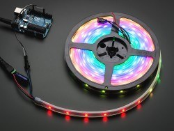China - Şerit LED - 30′lu RGB Silikon Kaplı (1 metre)