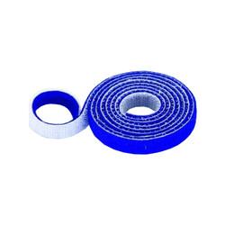 30mm Wide Velcro (loops & hooks integrated) 1 Meter Blue - Thumbnail