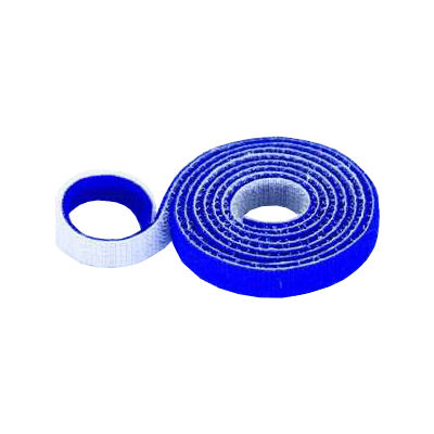 30mm Wide Velcro (loops & hooks integrated) 1 Meter Blue