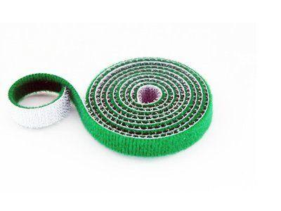 30mm Wide Velcro (loops & hooks integrated) 1 Meter - Green