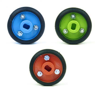 30x8mm Blue Wheel Set