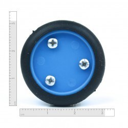 30x8 mm Mavi Renk Geçmeli Tekerlek Seti - Thumbnail