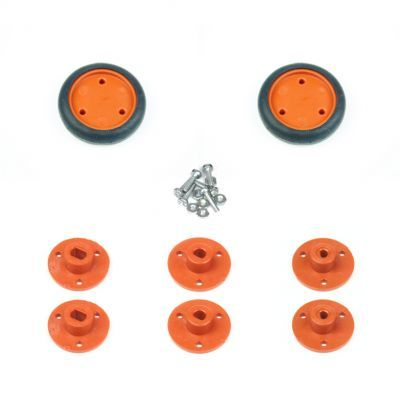 30x8mm Orange Wheel Set