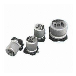 3.3uF 50v SMD Electrolytic Capacitor (5x4mm) - Thumbnail