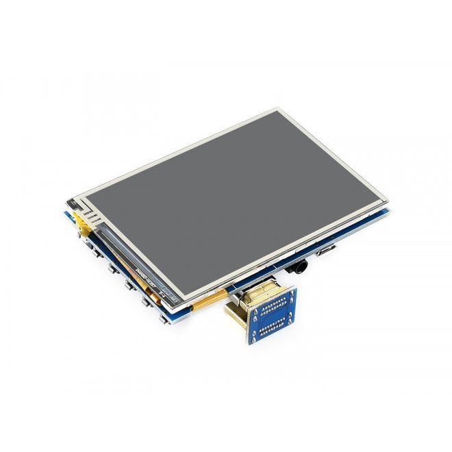 WaveShare 3.5 Inch HDMI Resistive Dokunmatik LCD - 480x320 (C)