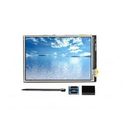 WaveShare 3.5 Inch HDMI Resistive Dokunmatik LCD - 480x320 (C) - Thumbnail