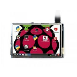 WaveShare 3.5 Inch Rezistif Dokunmatik LCD Ekran - 480x320 (B) - Thumbnail