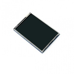 WaveShare - WaveShare 3.5 Inch Rezistif Dokunmatik LCD Ekran - 480x320 (B)