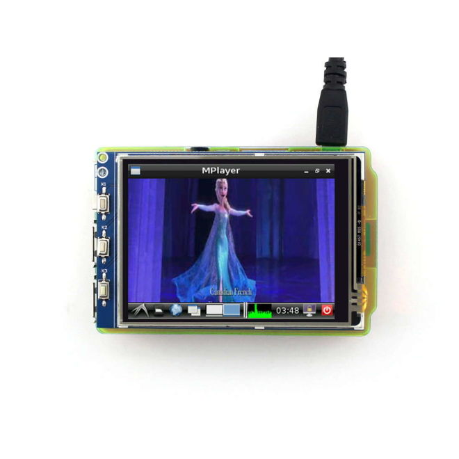 3,2'' Raspberry Pi Touch LCD Display (Primary Display)