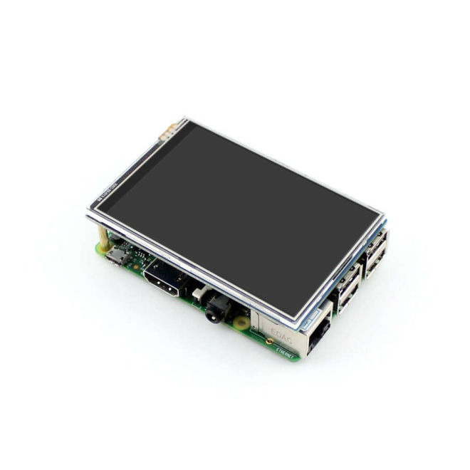 WaveShare 3.5 Inch Raspberry Pi Dokunmatik LCD Ekran (Birincil Ekran)