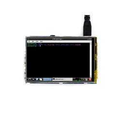 WaveShare 3.5 Inch Raspberry Pi Dokunmatik LCD Ekran (Birincil Ekran) - Thumbnail