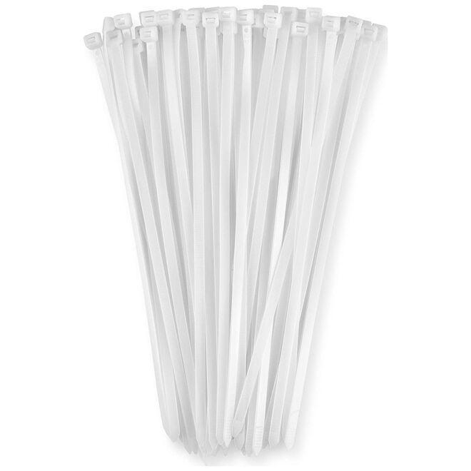 3,6mm Genişlik 15cm Uzunluk Kablo Bağı Beyaz - 100 Adet