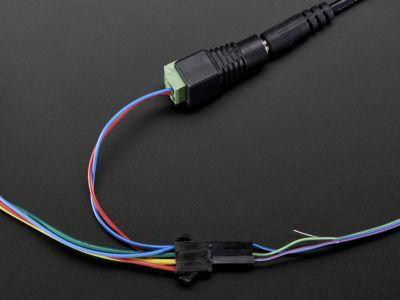 36mm Square 12V Digital RGB LED Pixels (Strand of 20) - WS2801