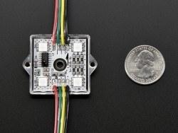 36mm Square 12V Digital RGB LED Pixels (Strand of 20) - WS2801 - Thumbnail