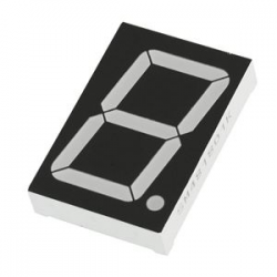 KPM - 38mm Anode Red 7 Segment Display - KPS-151 02BSRND