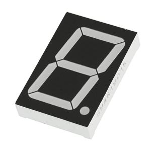 38mm Anode Red 7 Segment Display - KPS-151 02BSRND