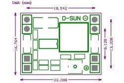 MP1584EN 3 A Mini Ayarlanabilir Voltaj Düşürücü Regülatör Kartı - Step Down - Thumbnail