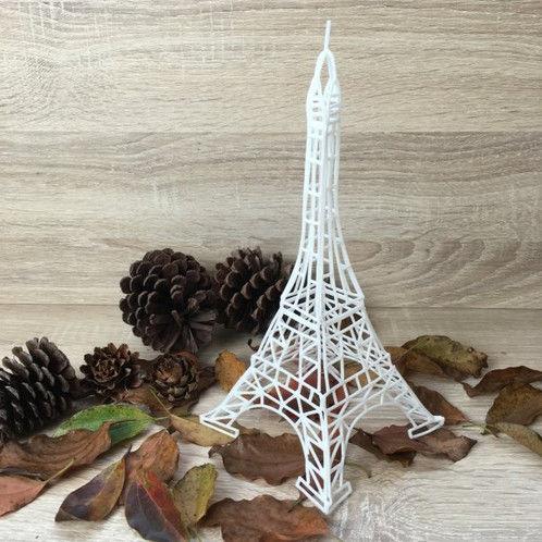3D Yazıcı Kalem için Kalıp - Eyfel Kulesi