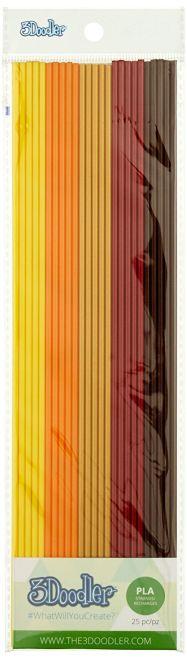 3Doodler PLA Fall Foliage 25'li Filament Pack
