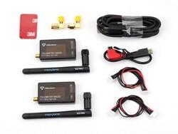 China - 3DR 500 mW 915 Mhz Radyo Telemetri Seti v3 (APM, Pixhawk Uyumlu)