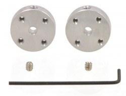 Pololu - 3 mm Motor Bağlantı Elemanı Çifti (M3 Sabitleme Vida Delikli)