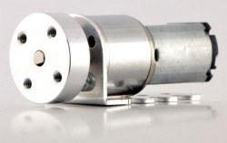 3 mm Motor Bağlantı Elemanı Çifti (M3 Sabitleme Vida Delikli) - Thumbnail