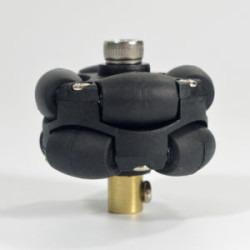 3mm Pirinç Kaplin (38 mm Plastik Omni Teker Uyumlu) - 18036 - Thumbnail