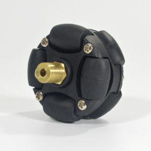 3mm Pirinç Kaplin (38 mm Plastik Omni Teker Uyumlu) - 18036
