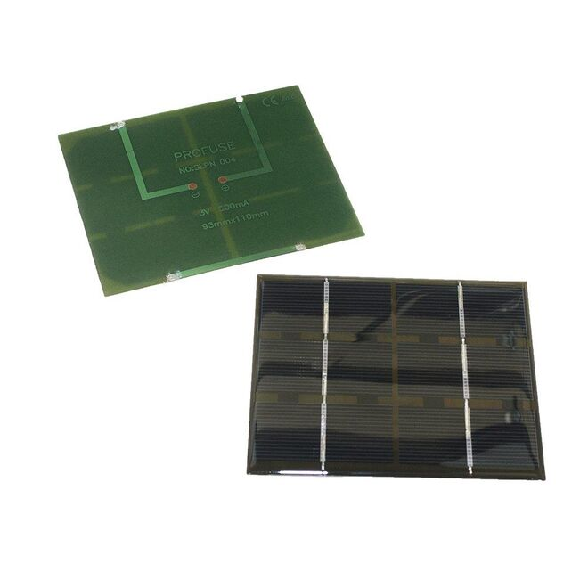 3V 500mA Solar Panel - Güneş Pili