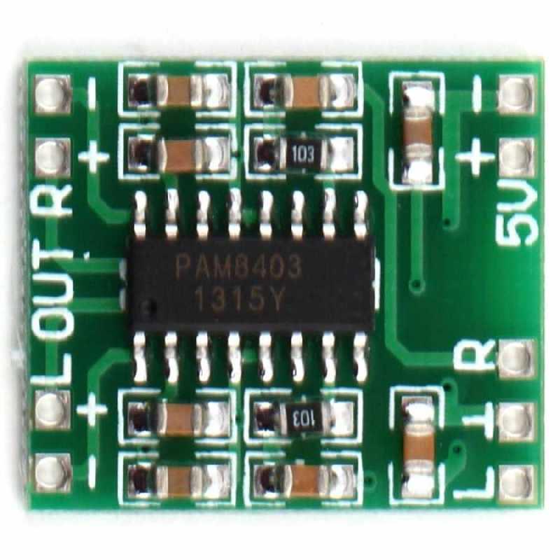 Buy 3W (2-channel) Mini Sound Amplificator Board - PAM8403