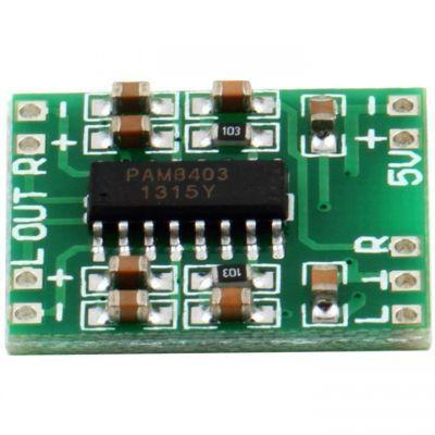 3W (2-channel) Mini Sound Amplificator Board - PAM8403