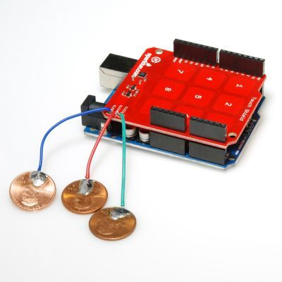 3x3 Kapasitif Dokunmatik Keypad Shield