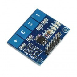 4 Buttons Touch Keypad - Capacitive Buttons - Thumbnail