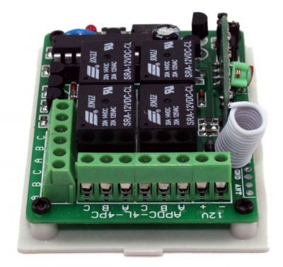 4 Channel 433 MHz Wireless RF Relay Board with Receiver - in Box