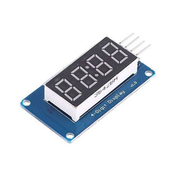 China - 4 Digits 7-Segment TM1637 Red Display Module
