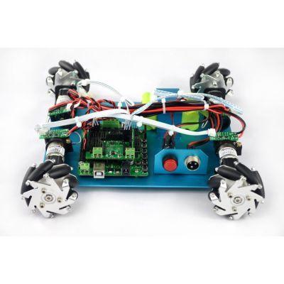 4WD Mecanum 60 mm Tekerlekli Arduino Robot Kiti - 10021