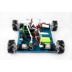 4WD Mecanum 60 mm Tekerlekli Arduino Robot Kiti - 10021 - Thumbnail