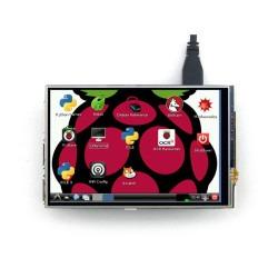 4 Inch Raspberry Pi Dokunmatik IPS LCD Ekran (Birincil Ekran) - Thumbnail