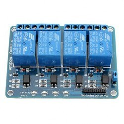 China - 4 Way 5V Relay Module