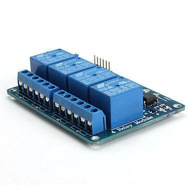 4 Way 5V Relay Module