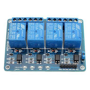4 Way 5 V Relay Module - 4'lü 5 V Röle Kartı